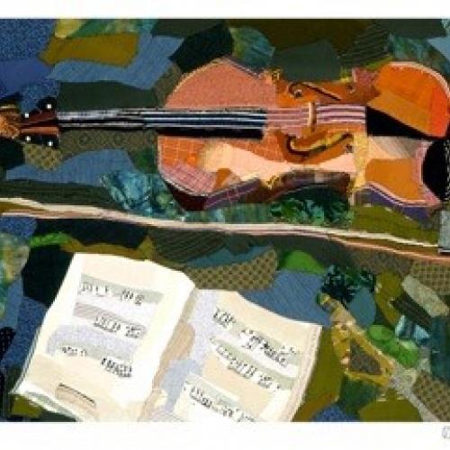 Y Fiola - print o waith Edrica Huws (1998)