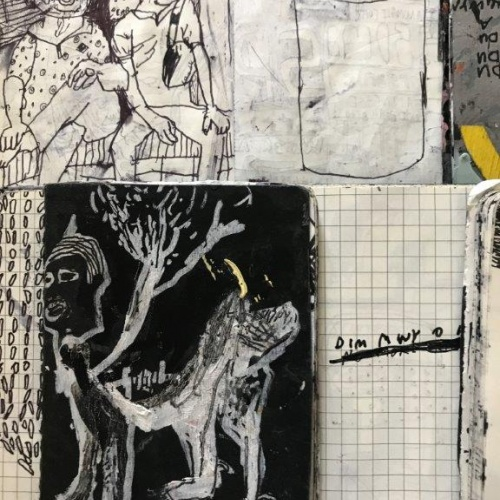 Elin Lisabeth Williams Ideas and sketch books (ink on paper) http://elinlisabeth.com/