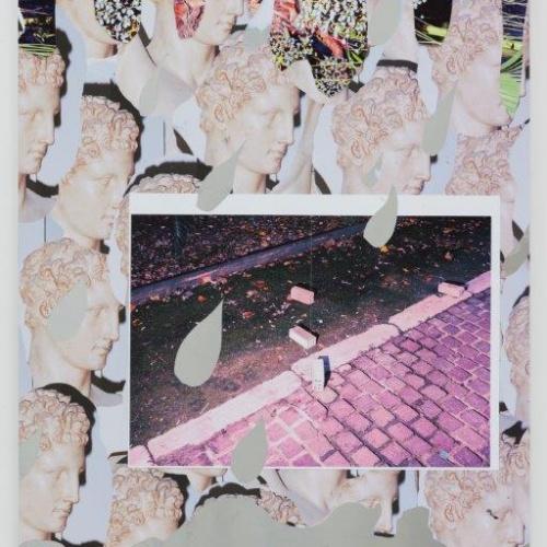 Jack Burton  Cwympo, colli (collage on aluminium)  www.jackburton.eu