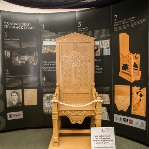 Replica of the Black Chair