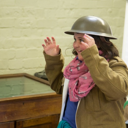 Gwynedd school children learn about the Great War